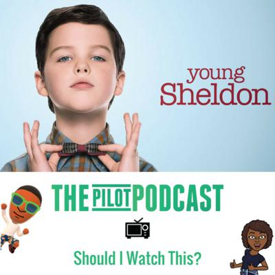 Cover art for Young Sheldon