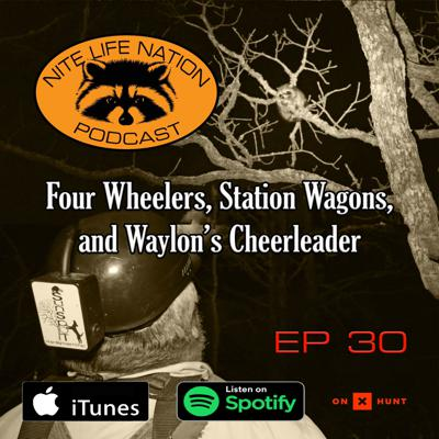 Cover art for Four Wheelers, Station Wagons, and Waylon's Cheerleader