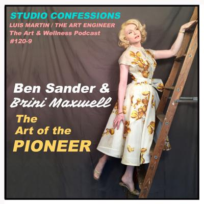 Cover art for Ben Sander & Brini Maxwell: The art of the Pioneer