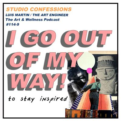Cover art for I Go Out of My Way to Stay Inspired