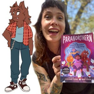 Cover art for Talking Comics Podcast: Issue #502: Amateur Ghosting with PARANORTHERN's Stephanie Cooke!
