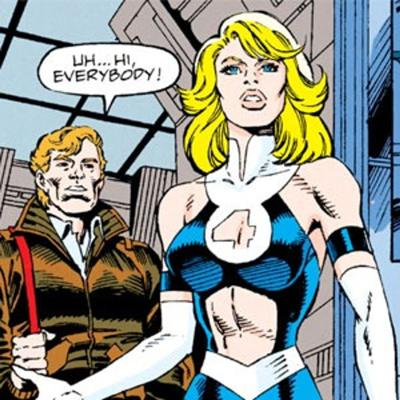 Cover art for Talking Comics Podcast: Issue #496: Sue Storm's '90s Wardrobe Malfunction