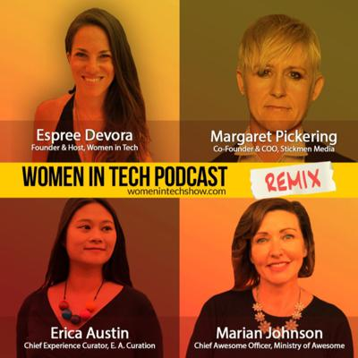 Cover art for Remix: Marian Johnson, Erica Austin, and Margaret Pickering: Women In Tech