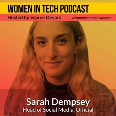 Cover art for Sarah Dempsey of Official: Women In Tech New York