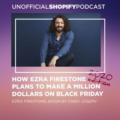 Cover art for Steal Ezra Firestone's Million Dollar Black Friday Blueprint