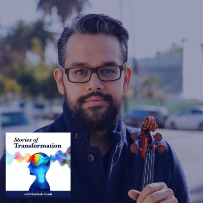 Cover art for Connecting, Humanizing and Healing Through Music with Esteemed Violinist Vijay Gupta