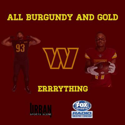 All Burgundy And Gold