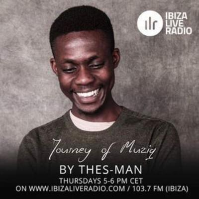 Cover art for Journey Of Muziq Show #195 - DJ Thes-Man