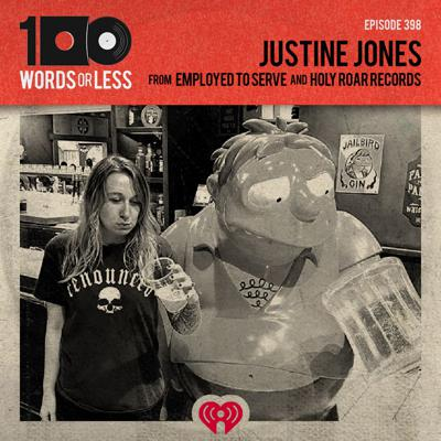 Cover art for Justine Jones from Employed To Serve/Holy Roar Records