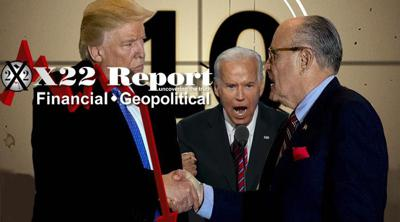 Cover art for Episode 2307 - Giuliani Signals 10 Days, Shutdown, The Hunted Have Become The Hunters