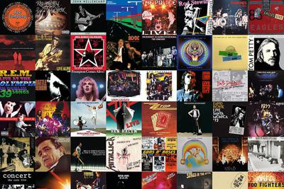 Cover art for Love That Album Podcast Episode 133 - A Pantheonistic Collection of Favourite Live Albums