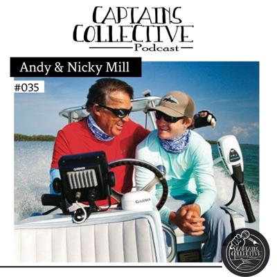 Cover art for #035 Andy & Nicky Mill: Fishing, Family, and Learning to Win