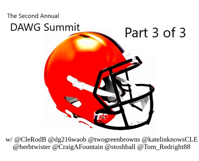 Cover art for The DAWG Summit  (3 of 3)