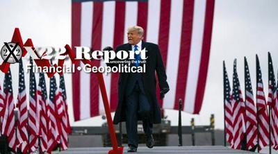 Cover art for Episode 2320 -  Coup d'etat, Trump Sets Trap To Expose It All, Patriots Know The Playbook
