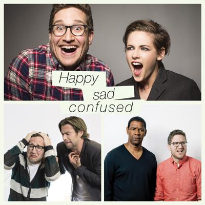 On Happy Sad Confused, Josh Horowitz gets nerdy and intimate with the biggest movie stars and filmmakers on the planet. Each and every week, you'll hear in-depth, career-spanning conversations with everyone from Emma Stone and Hugh Jackman to Woody Allen and Quentin Tarantino. If you've ever wanted to know what it was like to get casual with A-listers like Anna Kendrick, Tom Hiddleston, or Kristen Stewart (all HSC regulars), then come on in and join Josh in the Happy Sad Confused studio.