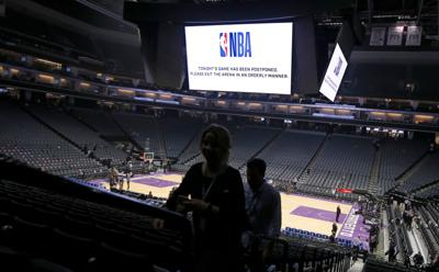 Cover art for NBA, NHL postpone games, March Madness canceled