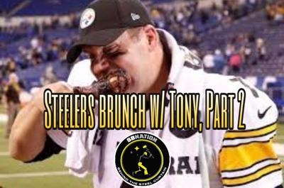 Cover art for Steelers Brunch With Tony, Part 2: Ben Roethlisberger is back, but is Big Ben back?