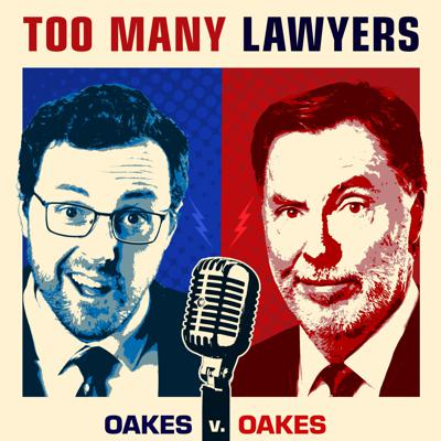 """Too Many Lawyers goes beyond the headlines about laws and court cases to tell listeners what developments in the law really mean, and how the stories impact real people.The hosts are each lawyers and legal analysts, but beyond that couldn't be more different.One, Royal Oakes, is a libertarian, baby boomer and dad, who's been offering analysis on network radio and television for decades; the other, Connor Oakes, is a progressive millennial and son of Royal Oakes, who offers a fresh take on the legal world.TML knows what podcast listeners want to hear about, and delivers – subjects include: ---Should America embrace Pete Buttigieg's view, legalization of every drug, from grass, to meth, to heroin? ---Should the feds be bumping the tobacco purchase age to 21? ---Can we trust Twitter and Facebook to censor political opinions? ---Your devices are spying on you – should you go through life not trusting Alexa? ---The gig economy – do laws saying everybody with a side hustle is an """"employee"""" help, or hurt? ---Should colleges be dumping SAT and ACT tests as a tool to fight discrimination? ---How can governments regulate """"ghost guns"""" made by 3-D printers? ---Is facial recognition just another tool like fingerprints, or does it spell the end of privacy? ---Should Amazon face lawsuits for sales of unsafe products, when they just collect a slice as middleperson?"""