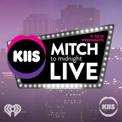 Home of the biggest guests & the BIGGEST host (he's just big boned) Mitch Churi is LIVE in studio taking your calls & song requests on KIIS-FM until the clock strikes 12. Whether you're a late night worker, pulling the graveyard shift, or just had a few too many in the back of an Uber, from 9-12am weeknights, you're with Mitch 'til Midnight.