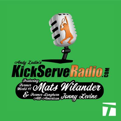 Andy Zodin's KickServeRadio.com, featuring Mats Wilander and Jonny Levine