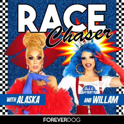 A podcast devoted to the discussion and dissection of every episode of RuPaul's Drag Race starting from the very beginning. Hosted by two of the most iconic queens to compete on the show, Alaska (Season 5, All Stars 2) and Willam (Season 4, Drag U), Race Chaser is an insider's look at the worldwide phenomenon that is RuPaul's Drag Race. Produced by the Forever Dog Podcast Network.