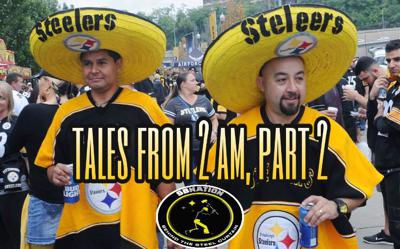 Cover art for Tales From 2 AM, Part 2:  Family first, but it's good to make room at the table for the Steelers