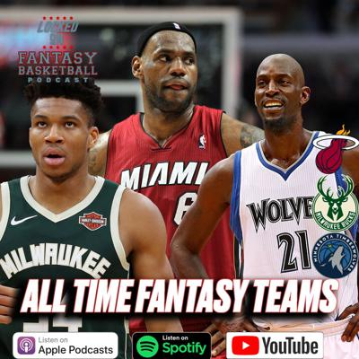 Cover art for All Time Fantasy Teams || Heat, Bucks, Timberwolves