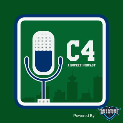 C4 Canucks Hockey Podcast - hosted by Chris Golden, Anna Forsyth, Matt Lee and Adam Ovenell-Carter - provides commentary on the Vancouver Canucks, the NHL, and pretty much anything else the three want to talk about. There are awesome guests, a few not so much, music, and well... anything else they can find under the seats on the Canucks bandwagon. .