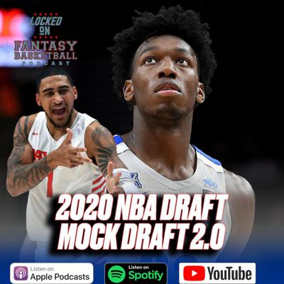 Cover art for 2020 NBA Draft Mock Draft 2.0 || Can James Wiseman Jump Up?