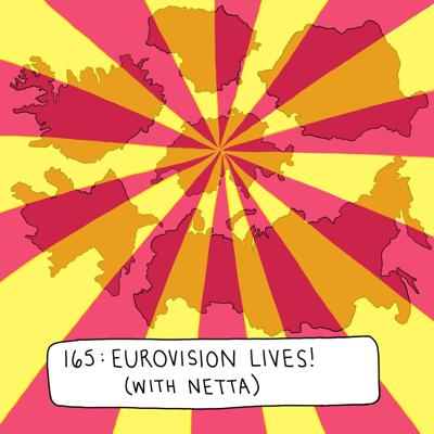 Cover art for Eurovision Lives! (with Netta)