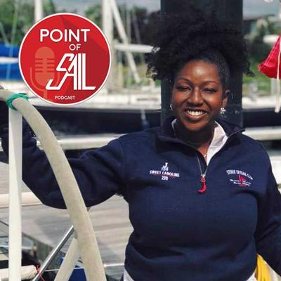 Cover art for Point of SAIL: Ayme Sinclair on US Sailing and Diversity