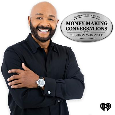 """The Money Making Conversations talk show is about entrepreneurship and entertainment. The interviews give the consumer and business owners access to Celebrities, CEOs, Entrepreneurs, and Industry Decision Makers. They provide relatable information to the listener about career and financial planning, entrepreneurship, motivation, leadership, overcoming the odds, and how to live a balanced life.  It is essential to understand that everybody travels a different path to success. That is because your brand is different. The challenges you face in your life are different. So stop reading other people's success stories and start writing your own. The Money Making Conversations interviews will encourage you to lead with your gifts and never use age as an excuse when planning your goals.  """"Lead with Your Gifts!""""  Rushion McDonald is a two-time Emmy Award-winning and three-time NAACP Image Award-winning television and film, producer. He is a sitcom writer, social media influencer, brand architect, entrepreneur, and award-winning baker.  https://www.moneymakingconversations.com  https://www.youtube.com/MoneyMakingConversations  https://www.facebook.com/MoneyMakingConversations/  https://twitter.com/moneymakingconv  https://www.instagram.com/moneymakingconversations/"""