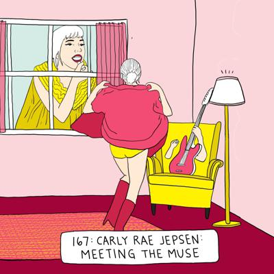 Cover art for Carly Rae Jepsen: Meeting The Muse