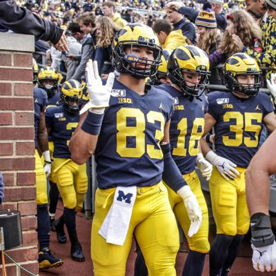 Cover art for Locked On Wolverines - May 8, 2020: Reacting to Jim Harbaugh's proposals