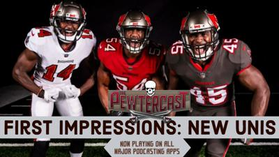 Cover art for First Impressions: The Buccaneers New Uniforms