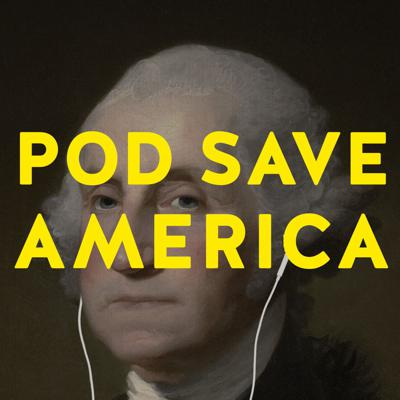 Four former aides to President Obama—Jon Favreau, Jon Lovett, Dan Pfeiffer and Tommy Vietor—are joined by journalists, politicians, activists, and more for a no-b******t conversation about politics. They cut through the noise to break down the week's news, and help people figure out what matters and how they can help. Text us questions and comments: (323) 405-9944. New episodes Mondays and Thursdays. New series on the VP selection process: That's The Ticket!—hosted by Dan Pfeiffer and Alyssa Mastromonaco—coming Friday 6/26 to the Pod Save America feed.