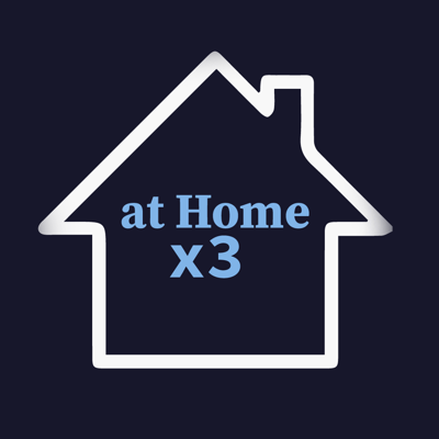 Cover art for At Home x3: Providence Upset Watch w/Keasel Broome and Nick Sailor