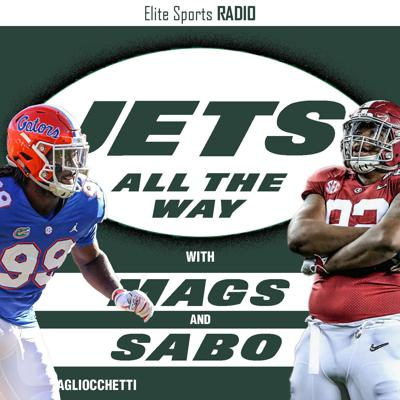 Cover art for Jets All The Way 6: NFL Draft Reaction, Quinnen Williams Fit
