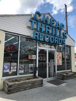 Cover art for Record Store Recon; Cheap Thrills Records of Beckley, WV