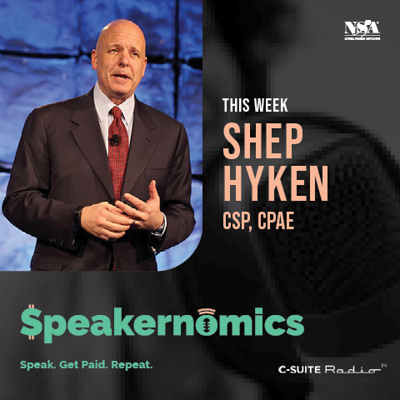 Cover art for Off-Stage Revenue with Shep Hyken