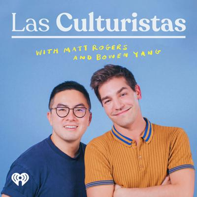 Ding dong! Join your culture consultants, Matt Rogers and Bowen Yang, on an unforgettable journey into the beating heart of CULTURE. Alongside sizzling special guests, they GET INTO the hottest pop-culture moments of the day and the formative cultural experiences that turned them into Culturistas. Honey, come and get your life. Produced by the Big Money Players Network and iHeartRadio.
