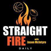 Cover art for Straight Fire-No More College Football, Giannis Cracks Under Pressure & Colin Cowherd