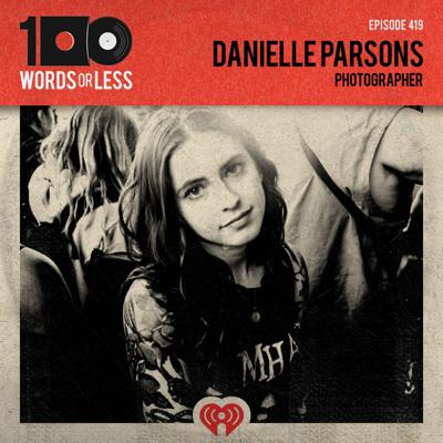 Cover art for Danielle Parsons, photographer