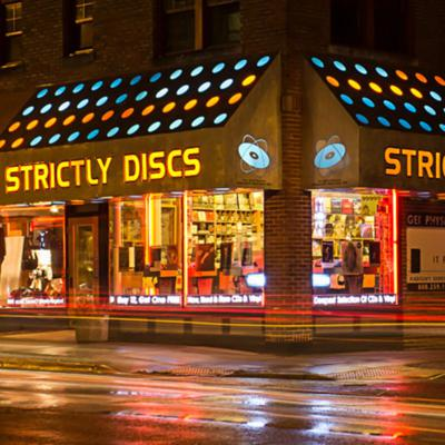 Cover art for Record Store Recon: Strictly Discs and Guestroom Records