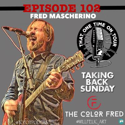 Cover art for Fred Mascherino (The Color Fred/Taking Back Sunday)