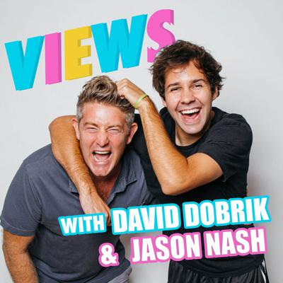 """In this weekly podcast, David Dobrik, a 24-year-old, sexy, millionaire YouTuber and Jason Nash, a 40-something single dad with a vlog of his own, take you behind-the-scenes of their vlogs and show you what living the """"YouTube life"""" is really like. Join these two as they confess their most intimate thoughts, discuss pop-culture, and dissect their own contentious relationship. New episodes drop every Tuesday!"""