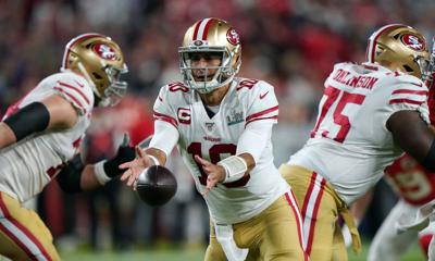 Cover art for Why the 49ers need to think about trading Jimmy Garoppolo