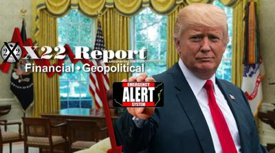 Cover art for Episode 2321 - The Sting Operation Has Begun, Trump Knew, Be Ready, EAS On Deck