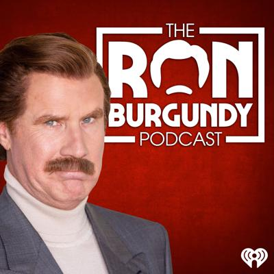 """Will Ferrell reprises his role as Ron Burgundy in his brand new Ron Burgundy Podcast! Each episode has a different theme in which Ron engages in conversation with another notable person on the topic at hand. In true Ron Burgundy fashion, these conversations have a tendency to go off the rails, and we find out things about people we never knew we wanted to know. In season 2, Ron considers a run for President, continues to perform music, and blacks out at work. In Season 1, Ron addressed important issues like bullying and the mind-expanding nature of meditation, and attempted to ultimately answer the question """"seriously, what is a podcast?"""""""