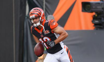 Cover art for The Orange and Black Insider Bengals podcast: On-the-side receiver